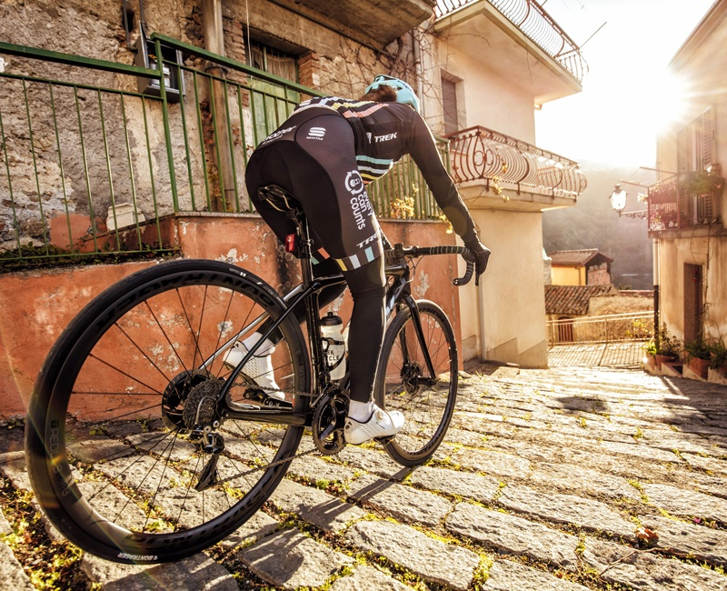 Ride the all-new Domane Disc on a Trek Travel bike tour