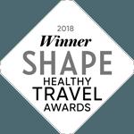 Trek Travel wins Shape Magazine's Healthy Travel Awards 2018