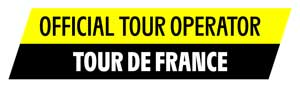 Official Tour Operator of the Tour de France badge