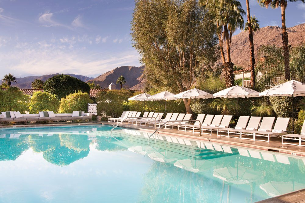 Colony Palm Springs on a Trek Travel Cycling Vacation