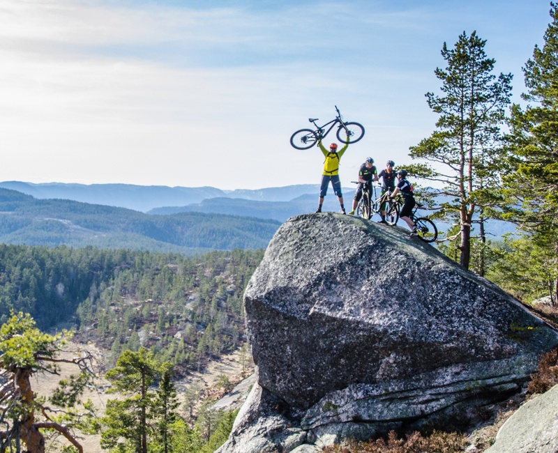 Trek Travel Norway Mountain Bike Tour