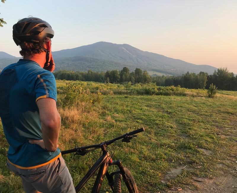 Experience a Trek Travel mountain bike tour to Vermont's Kingdom Trails