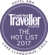 Stay at Hotel Awa, a Nast Traveller Hot List winner, on a Trek Travel Bike Tour to Chile