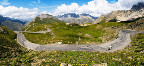 Join Trek Travel for the Classic Climbs of the Alps bike tour in France