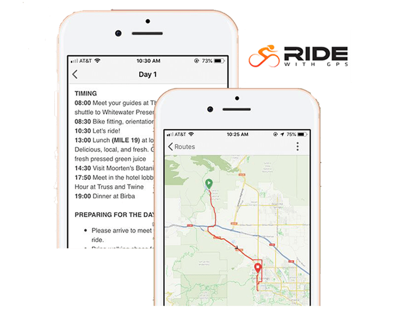 Upgrade to a Ride With GPS experience