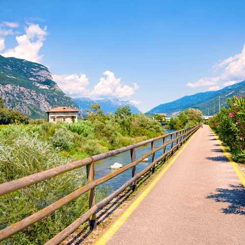 Explore the Italian Dolomites on a Trek Travel Multisport bike tour