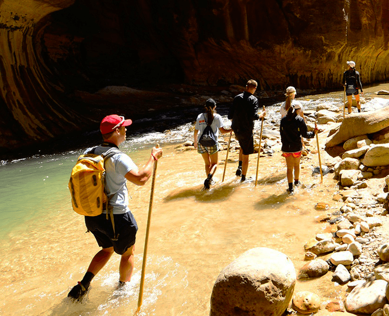 Join Trek Travel for a family-friendly bike tour to Zion National Park