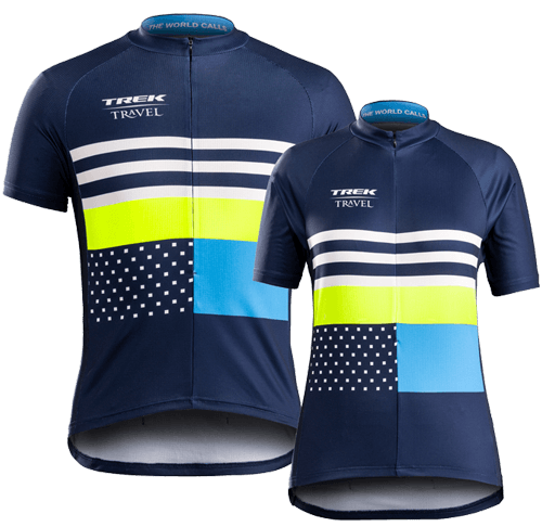 Receive a complimentary Guest Jersey on every Classic Trek Travel bike tour