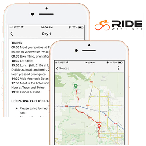 Introducing the all new Trek Travel Ride with GPS Experience