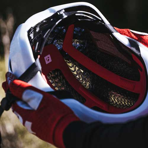 Wear the Bontrager Specter helmet with revolutionary WaveCel helmet technology on a Trek Travel Bike Tour