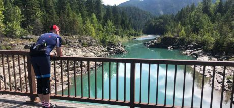 Go glamping with Trek Travel and Under Canvas on a Glacier National Park bike tour