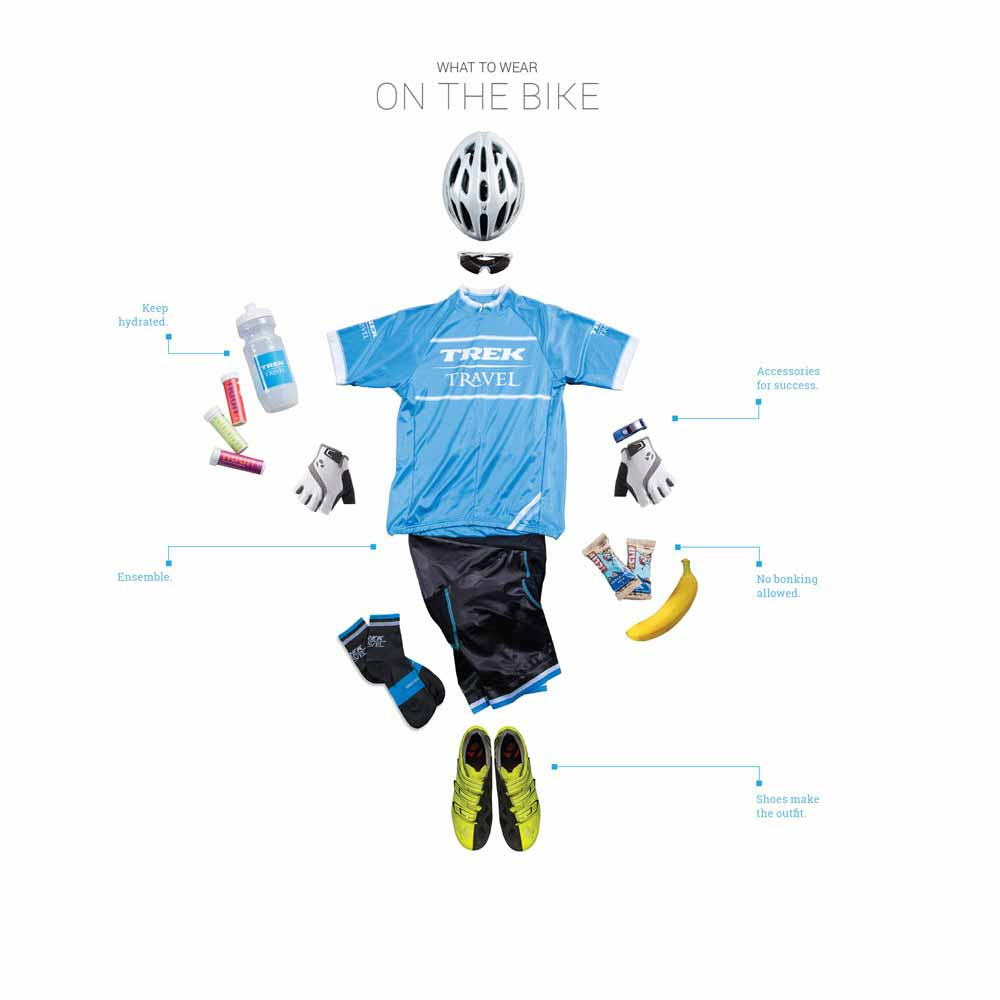 Trek Travel Packing Tips for Cycling Vacations