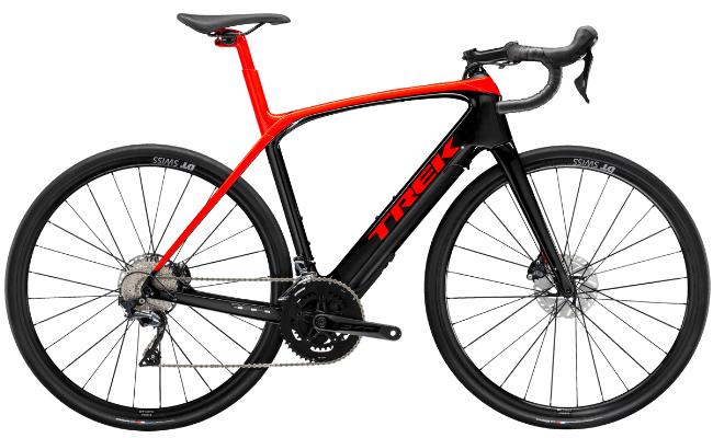 Ride a Trek Domane+ LT electric-assist bike a Trek Travel cycling vacation and bike tour