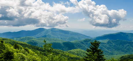 Asheville Self Guided - Blue Ridge Mountains - Canva