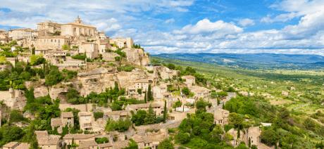Provence - Gordes Canva