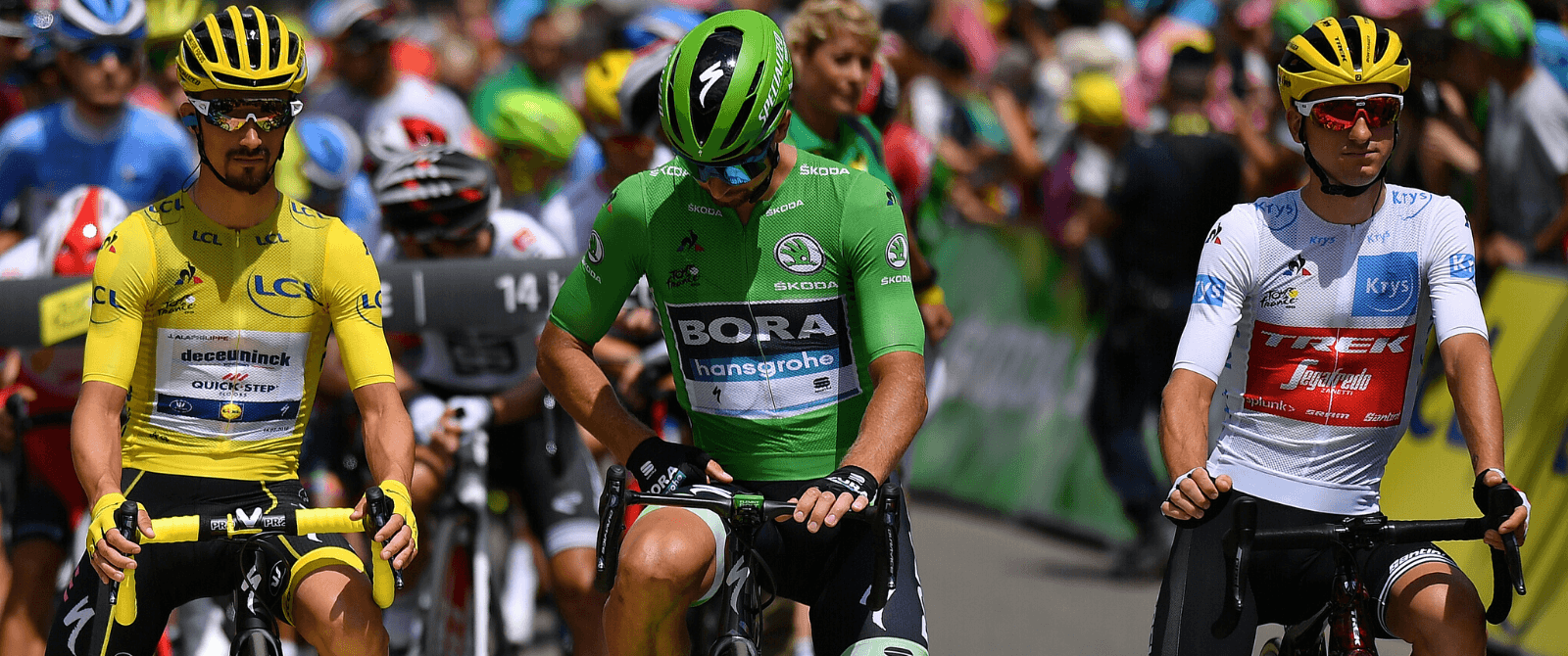 What is the green jersey in the Tour de France?