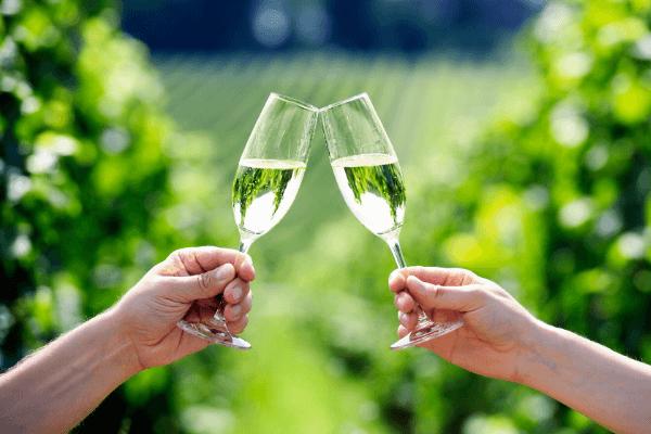 Enjoy Prosecco, a regional specialty in Veneto