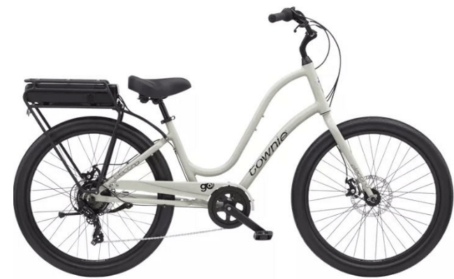 Ride an Electra Electric Assist Townie Go! 7D a Trek Travel cycling vacation and bike tour