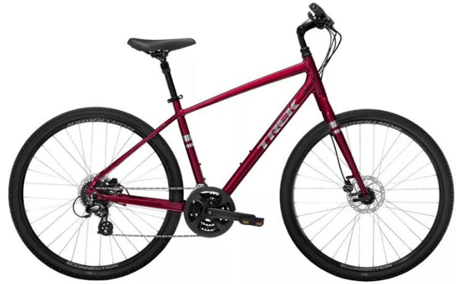 Ride a Trek Verve 2 Hybrid Bike on a Trek Travel cycling vacation and bike tour